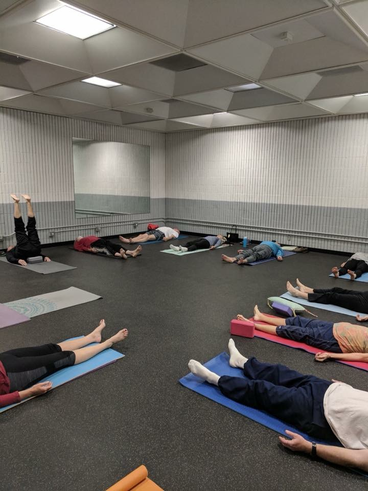 Helmet Simpson Center With Sue Bouk Yoga Class